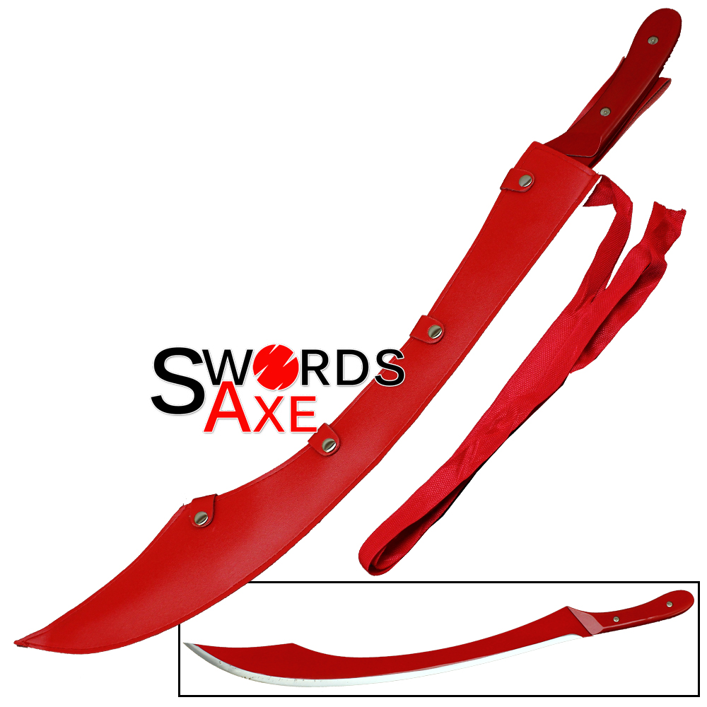how to draw blood on a sword