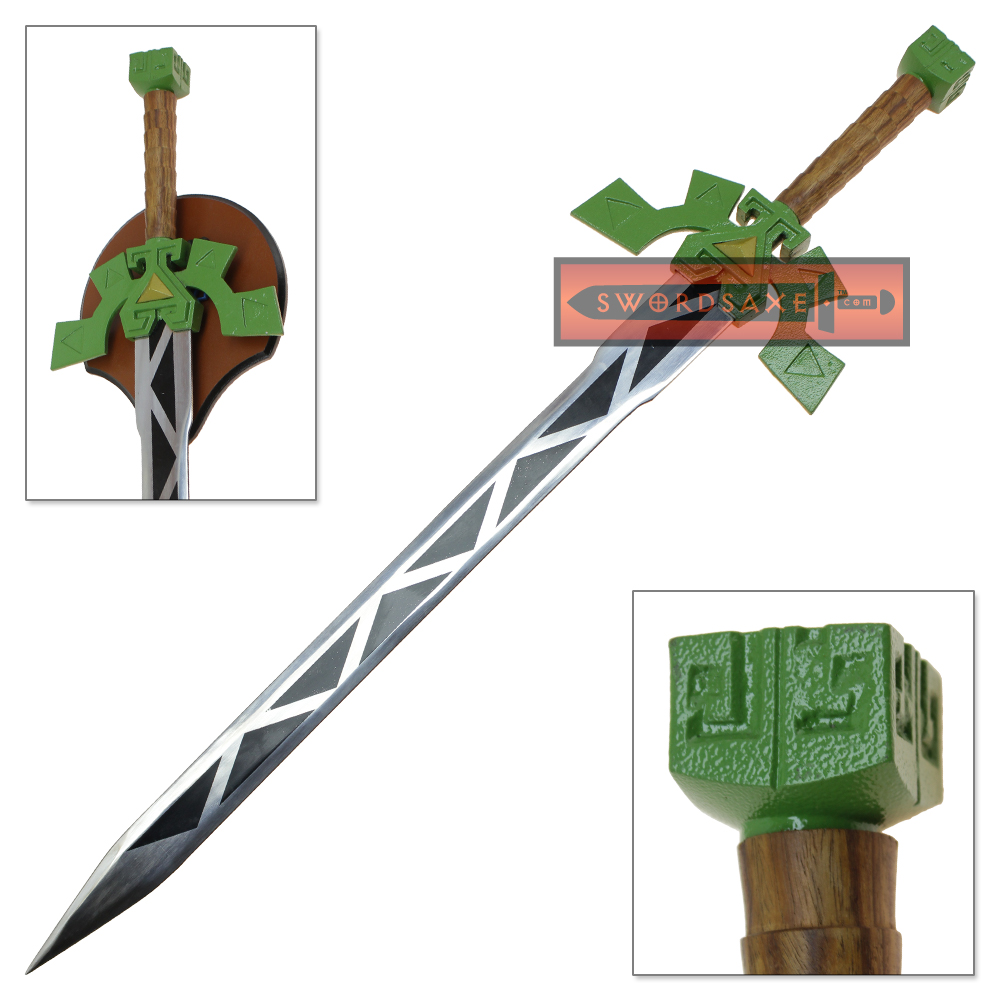 Legend Of Zelda Spirit Tracks Lokomo Sword Steel Blade Replica Full