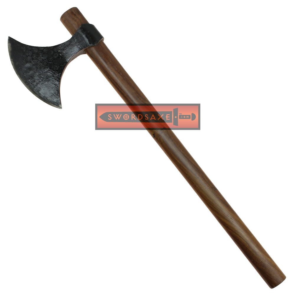 Medieval Viking Berserker Warrior Bearded Axe Raider