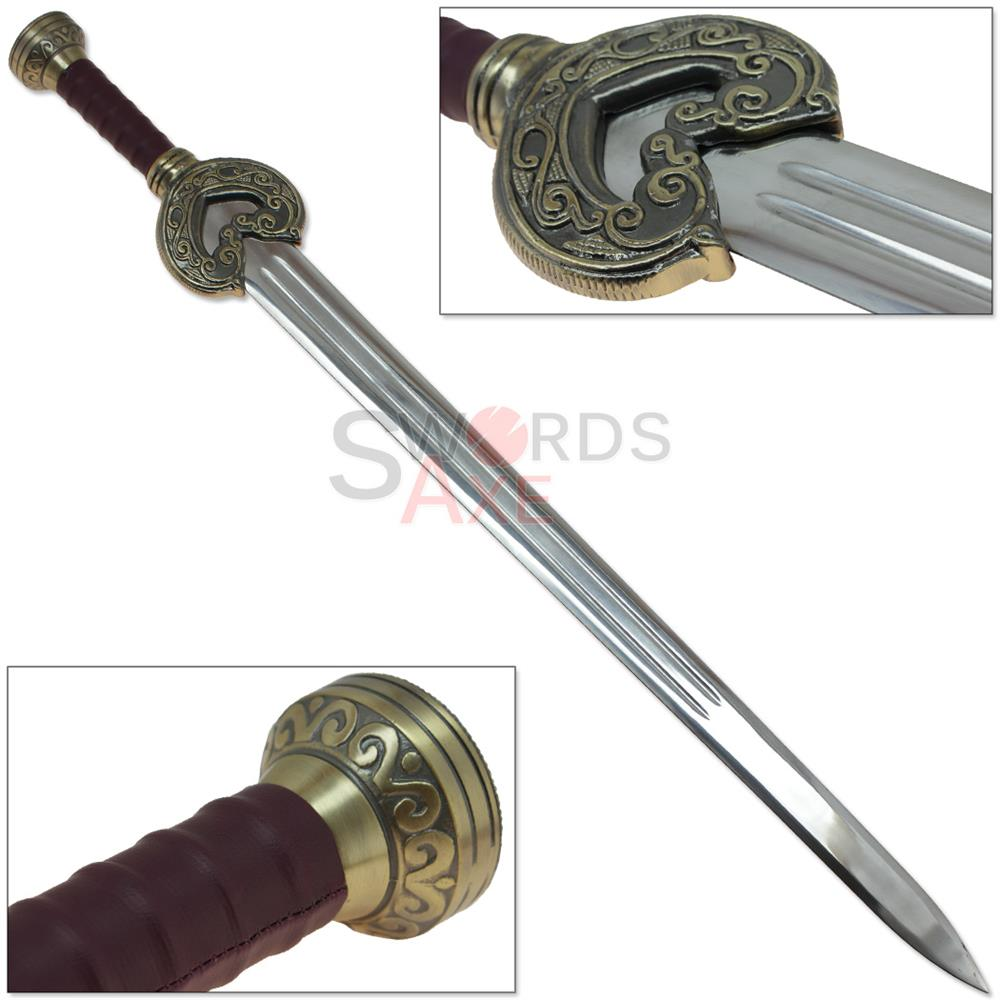 Dancing Horses Movie Sword Replica Rider King Finely