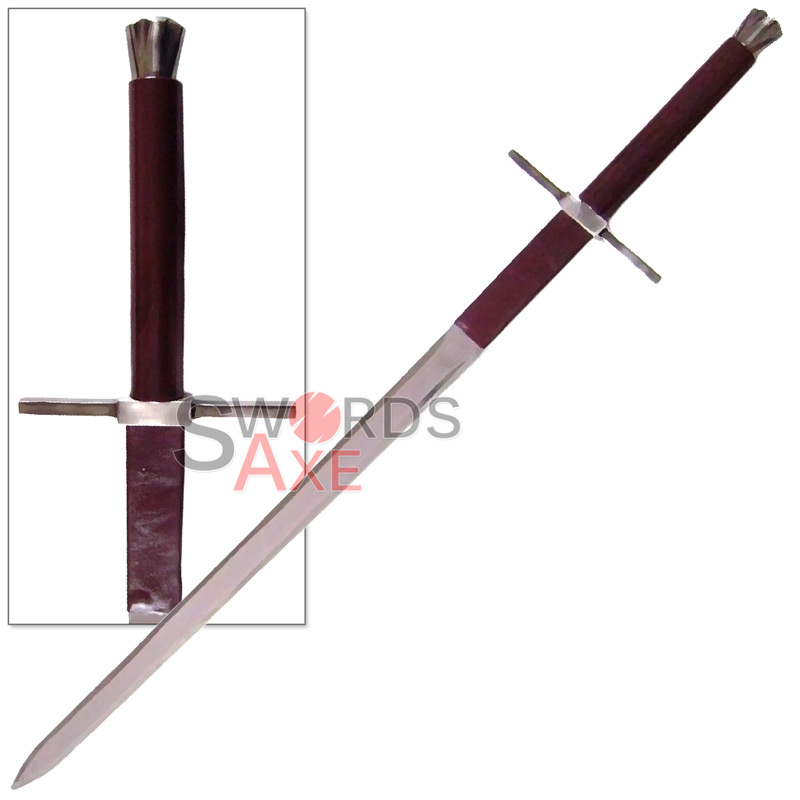 Witcher 2 Geralts Bastard Steel Sword Replica 440