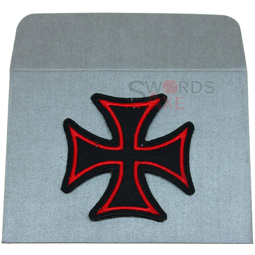 Teutonic Knights Iron Cross (Also German) Embroidered