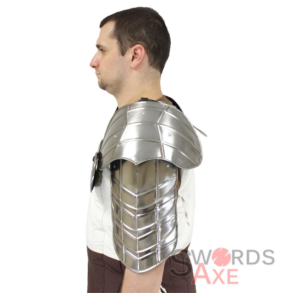 Warlord Armor Set Pauldrons Amp Gorget Steel Plate Segmented